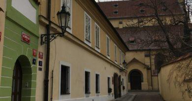Nejmenší dům v Praze