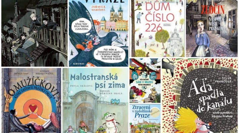 Dětské knihy o Praze
