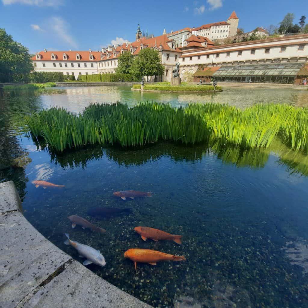 S dětmi v Praze: Valdštejnská zahrada s dětmi