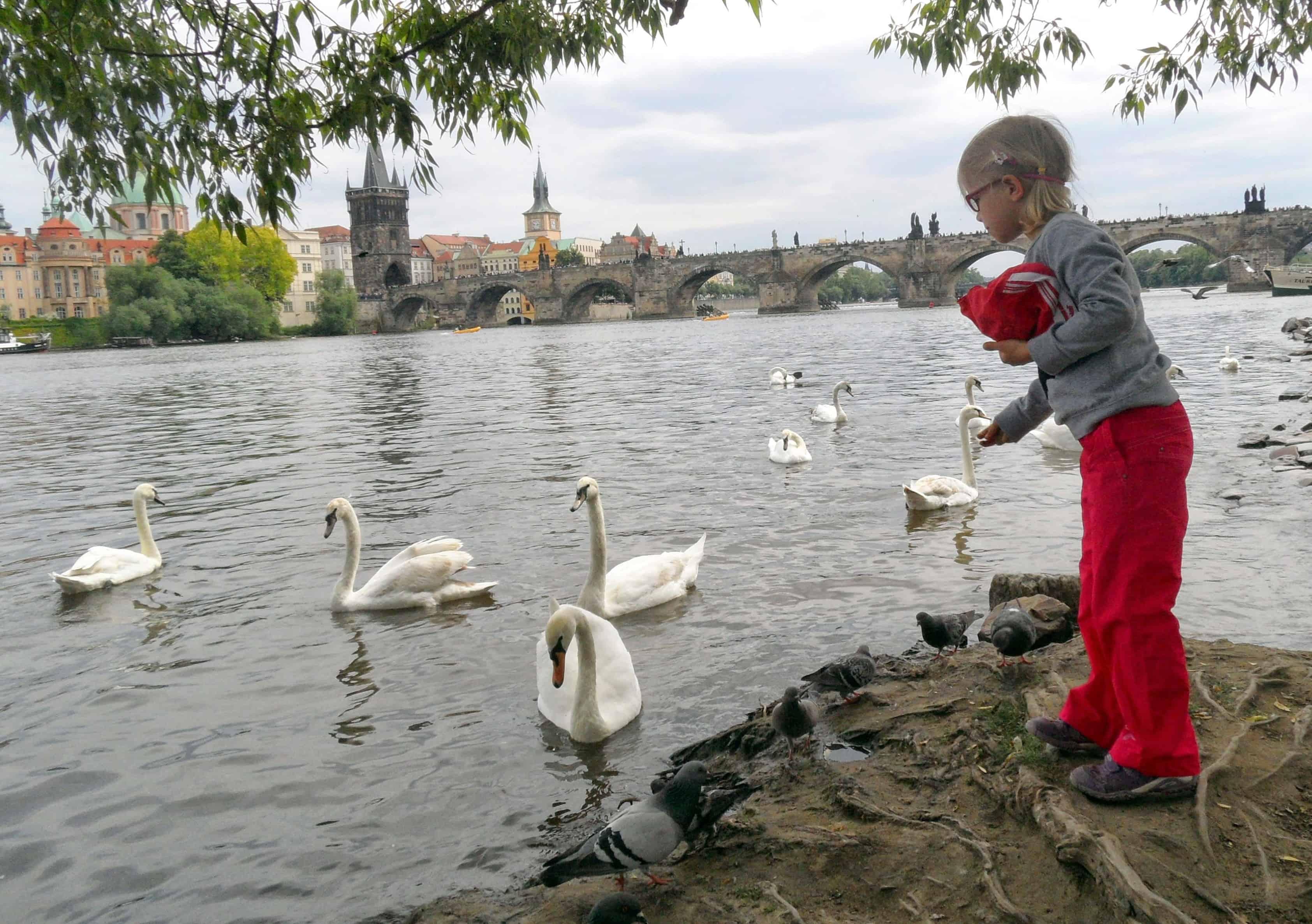 S dětmi v Praze