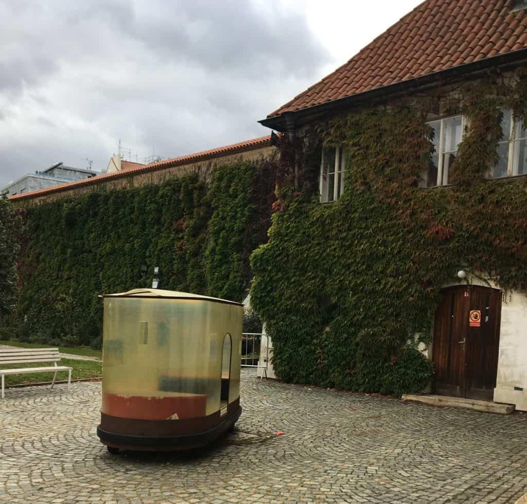 Zahrada Anežského kláštera