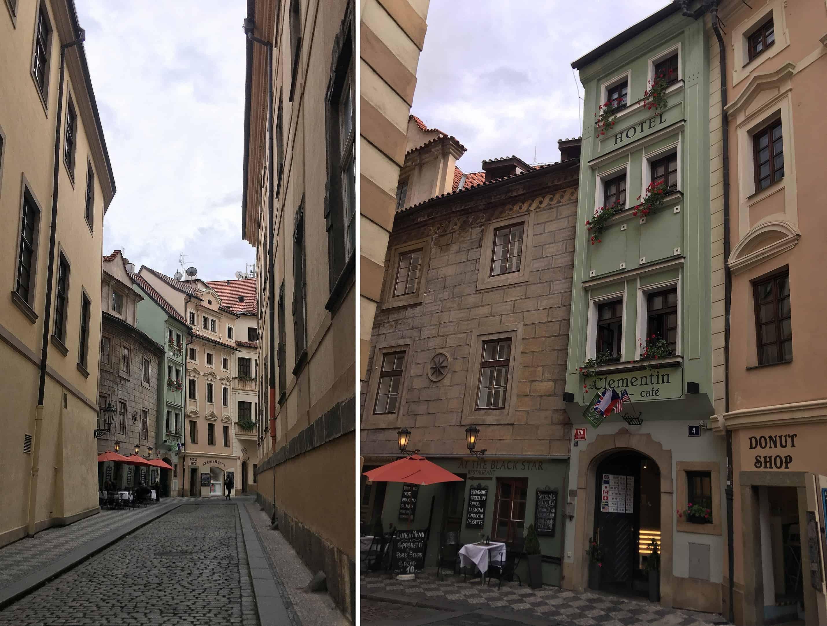 nejuzší dům v Praze