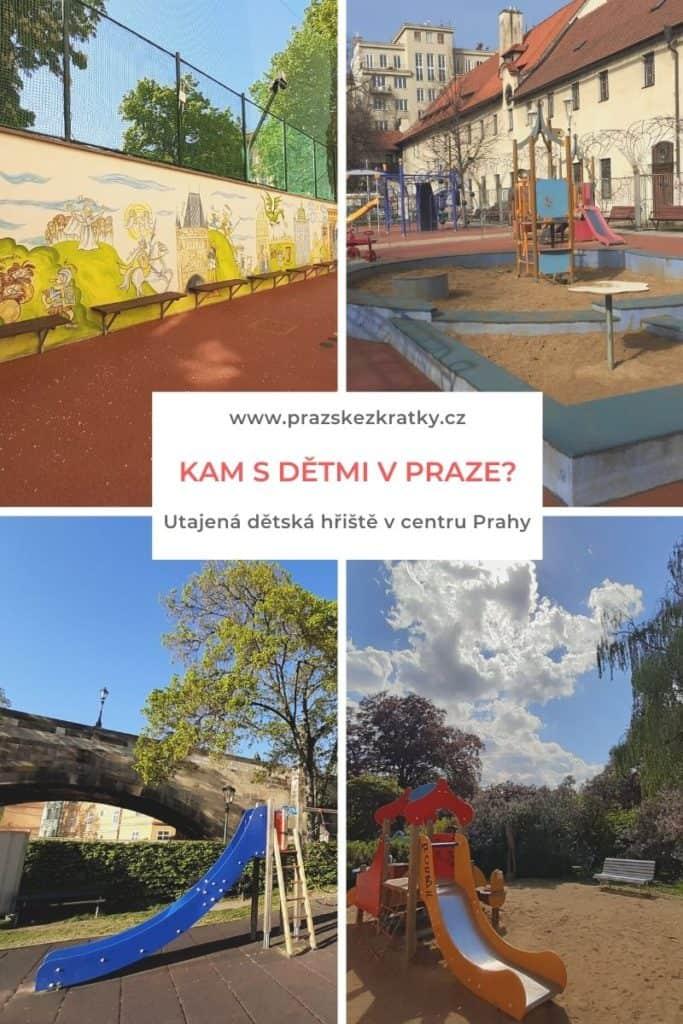 Kam v Praze s dětmi: Utajená dětská hřiště v centru Prahy