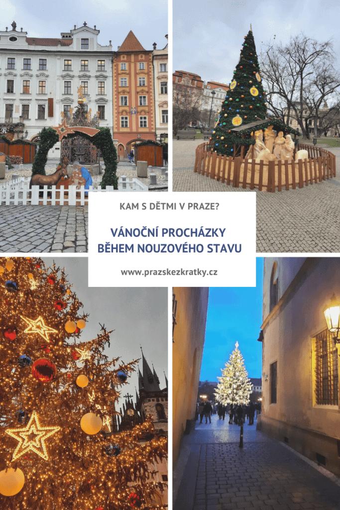 Kam s dětmi v Praze: vánoční procházky během nouzového stavu