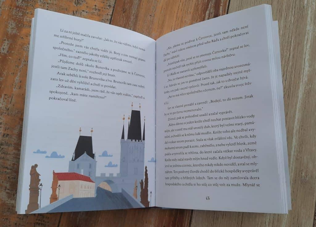 O Praze dětem: Čteme dětem o Praze - Zachariáš a tajemství stříbrných tenisek