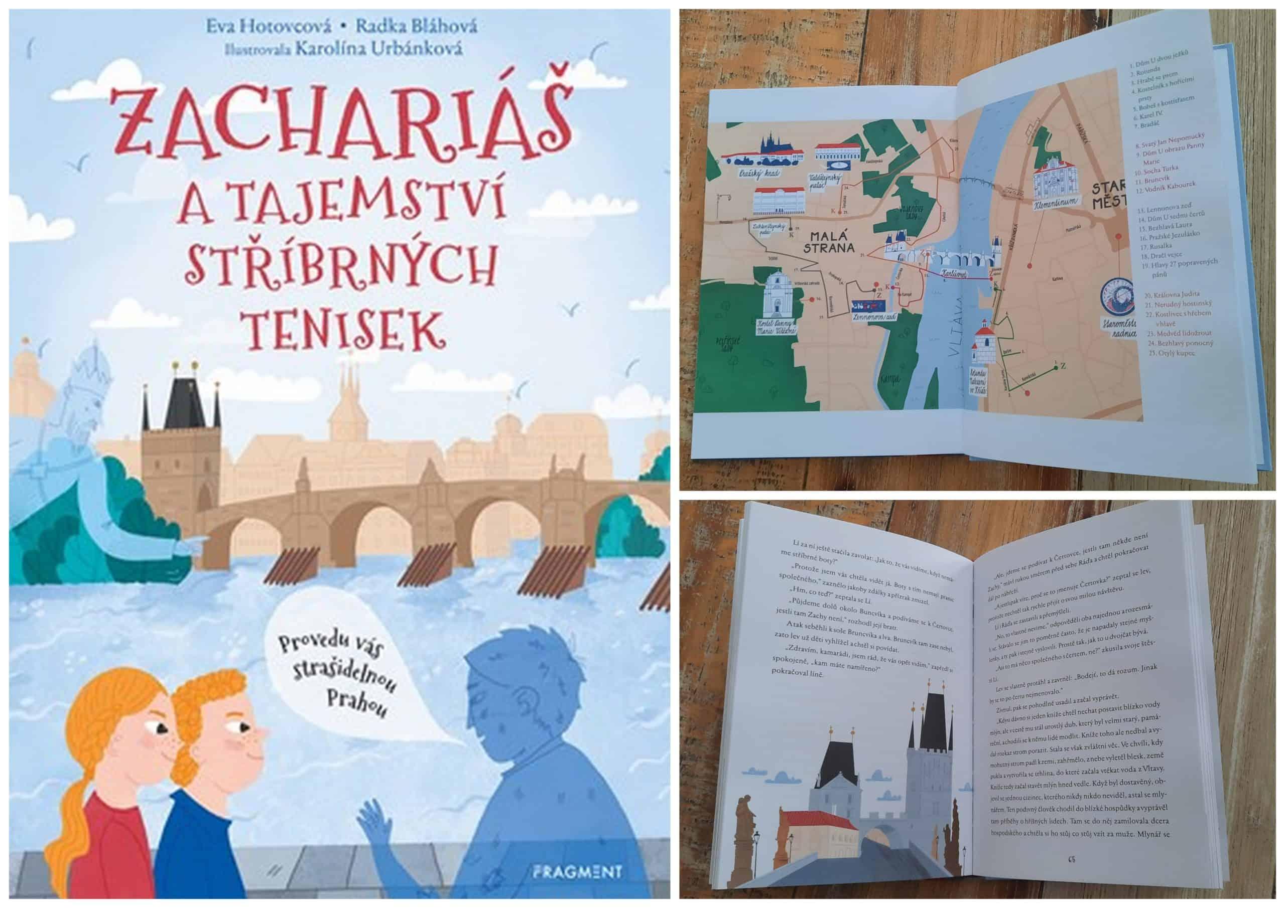 Příběhy o Praze pro děti: Zachariáš a tajemství stříbrných tenisek