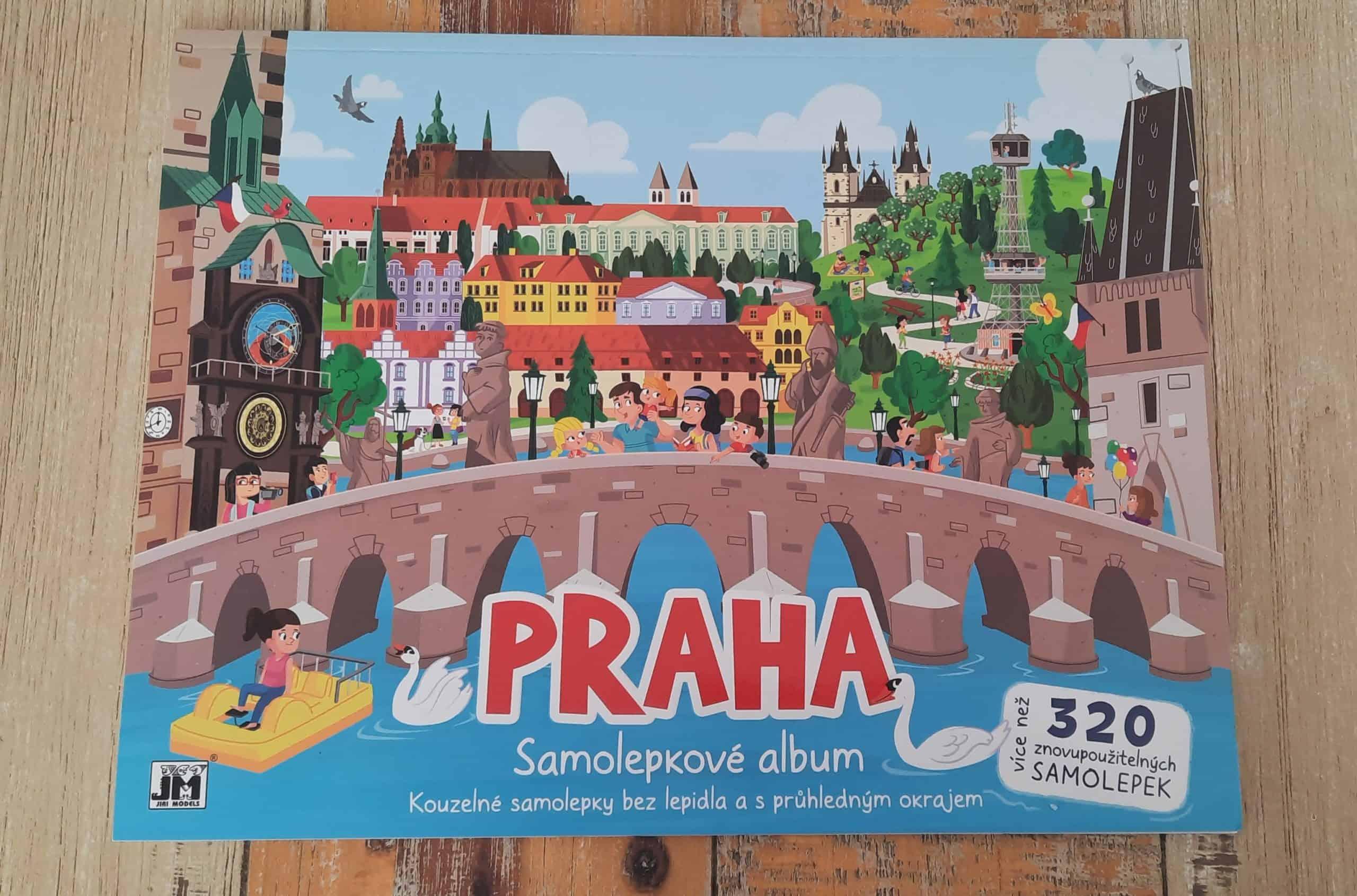 O Praze pro děti: Samolepky o Praze