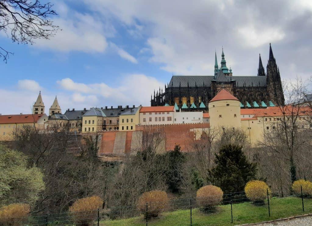 Pražský hrad s dětmi: Královská zahrada s dětmi