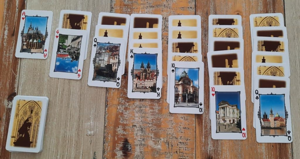 O Praze pro děti: nejoblíbenější karetní hry pro děti o Praze