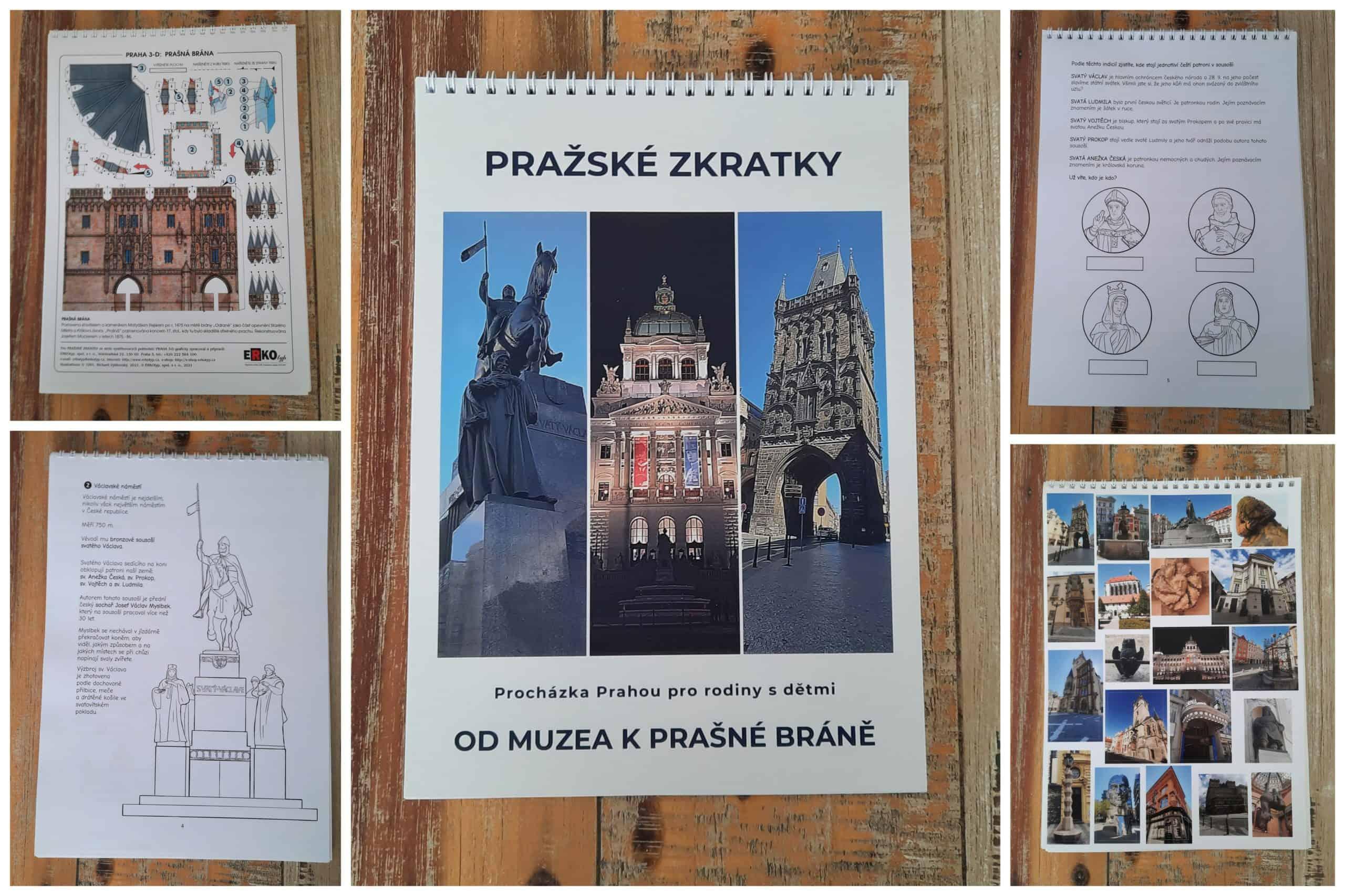 Kam s dětmi v Praze: Procházka centrem Prahy bez průvodce - Od Muzea k Prašné bráně