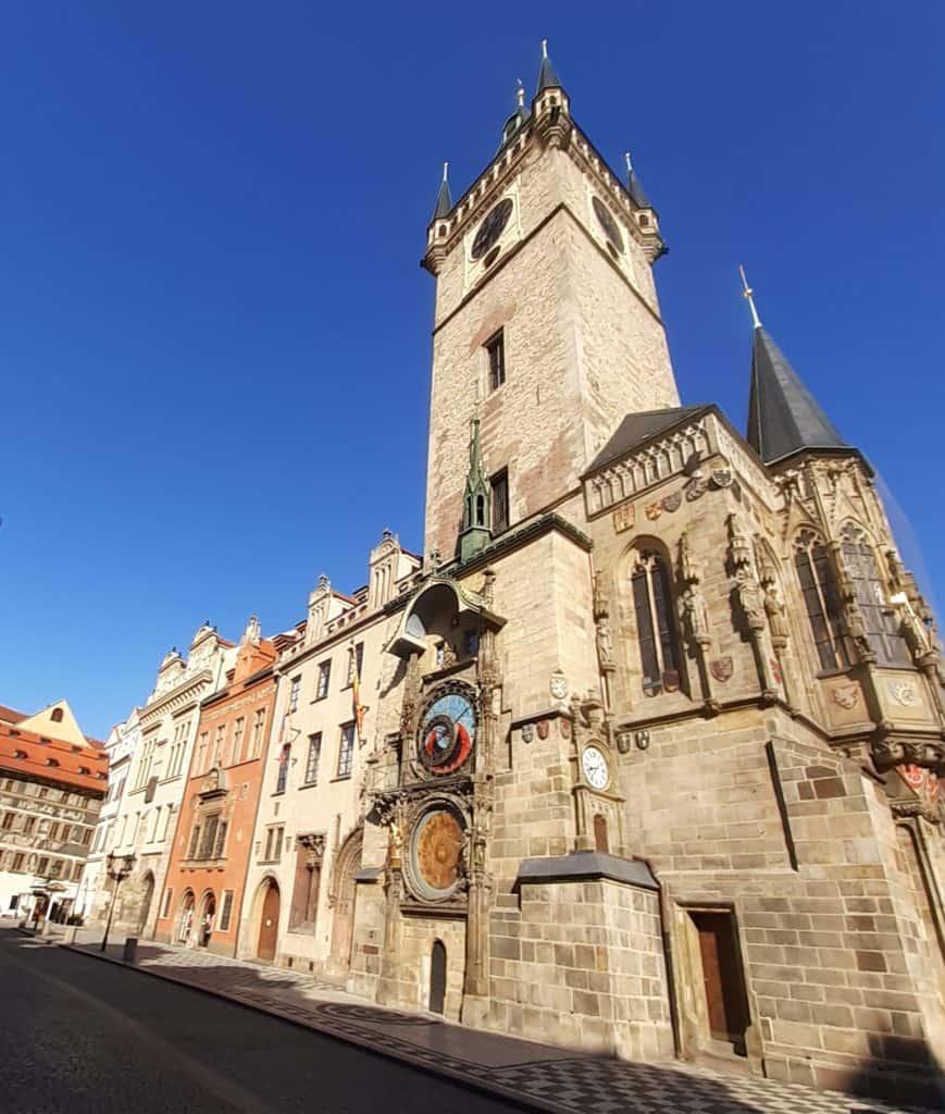 S dětmi v Praze: Věž Staroměstské radnice