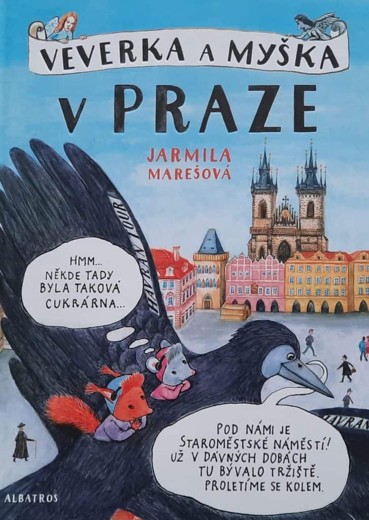 Komiks o Praze pro děti: Veverka a myška v Praze