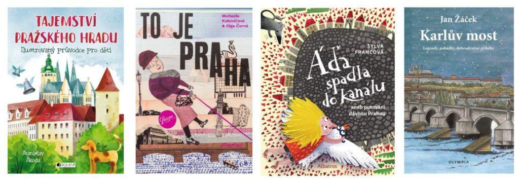 Kam s dětmi v Praze: Výlet do Prahy, dětské knihy o Praze