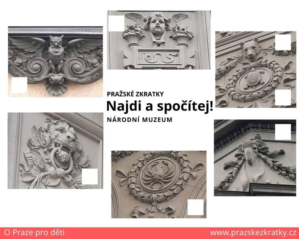 Kam s dětmi v Praze: Najdi a spočítej! Národní muzeum