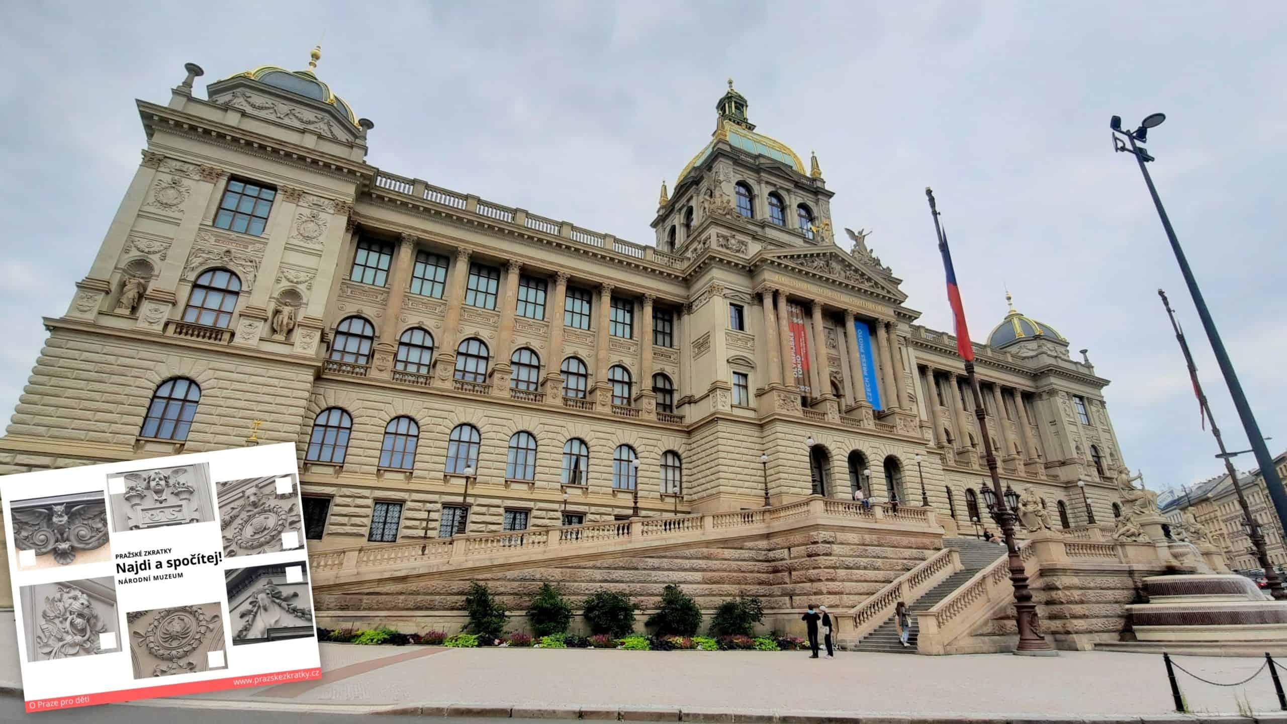 Kam v Praze s dětmi: Najdi a spočítej! Národní muzeum