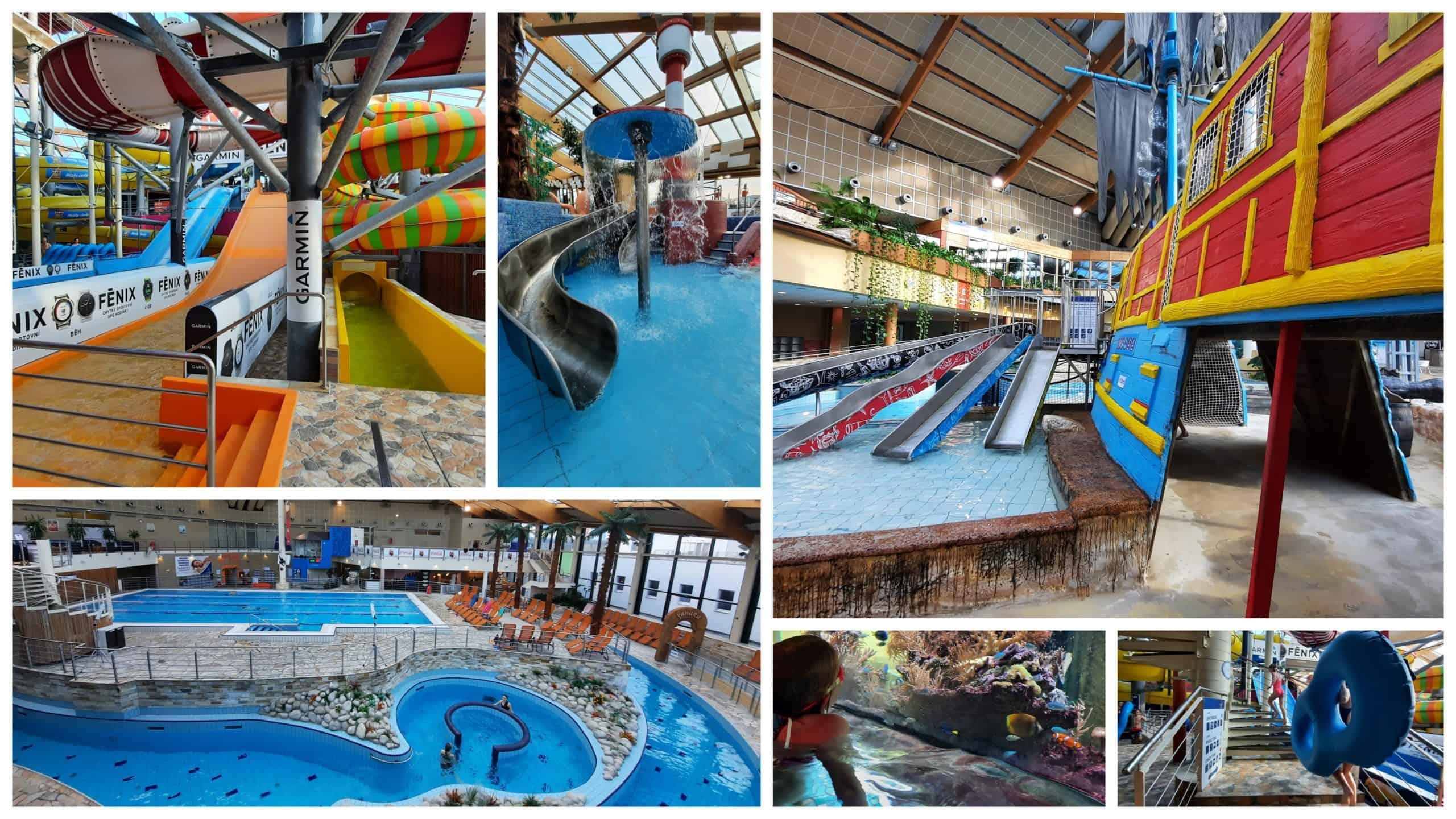 Když v Praze prší: Aquapalace Čestlice - Kam v Praze s dětmi