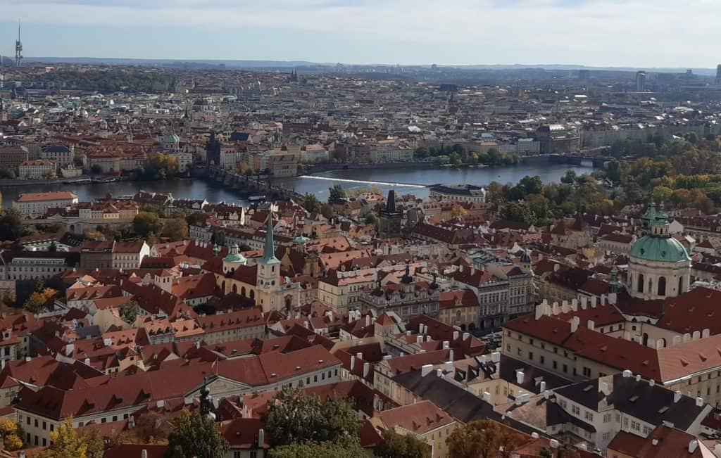 Pražský hrad s dětmi: Jižní věž katedrály sv. Víta